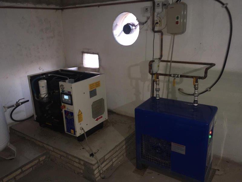 Assistência técnica compressor em Franca