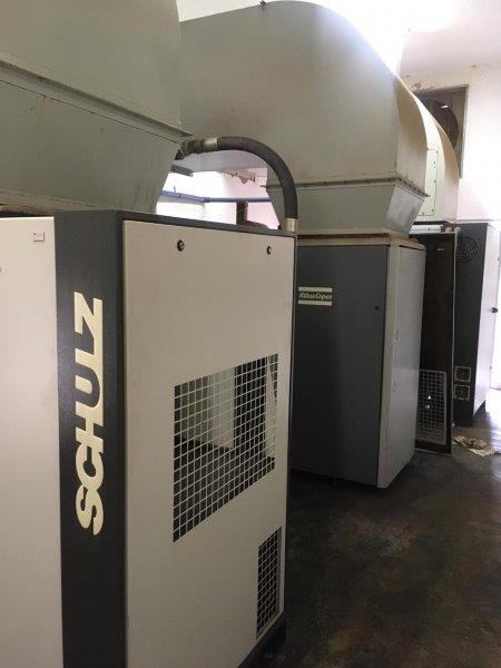 Compressor de ar para alugar