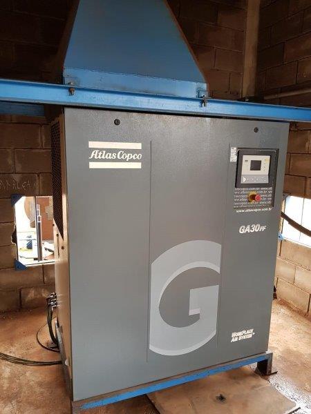 Compressor manutenção