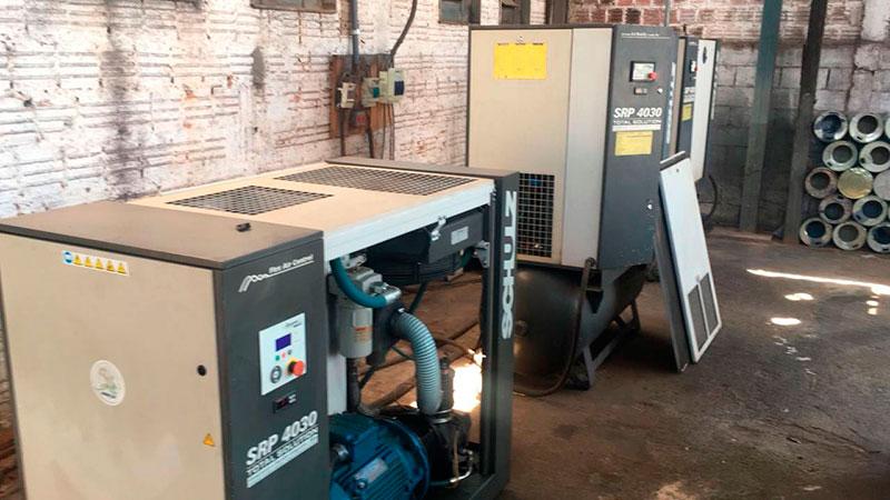Conserto de compressor a ar