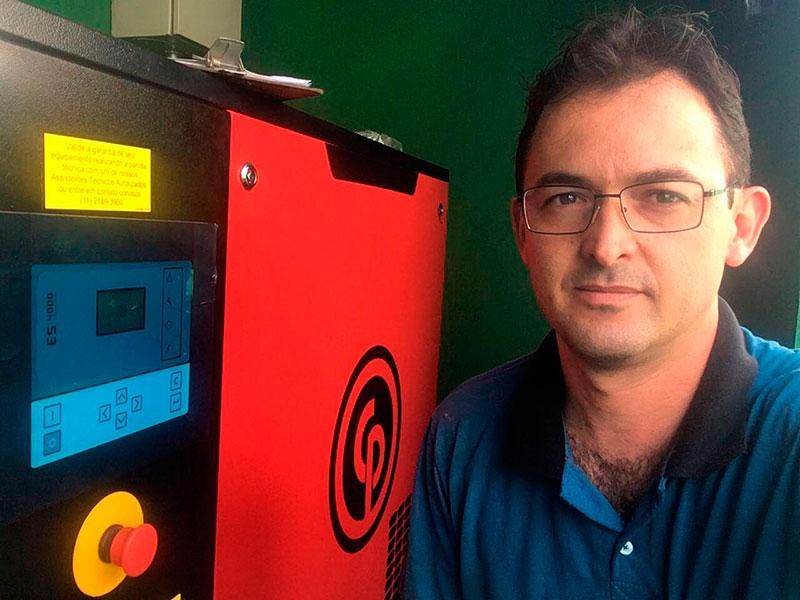 Conserto de compressor de ar comprimido