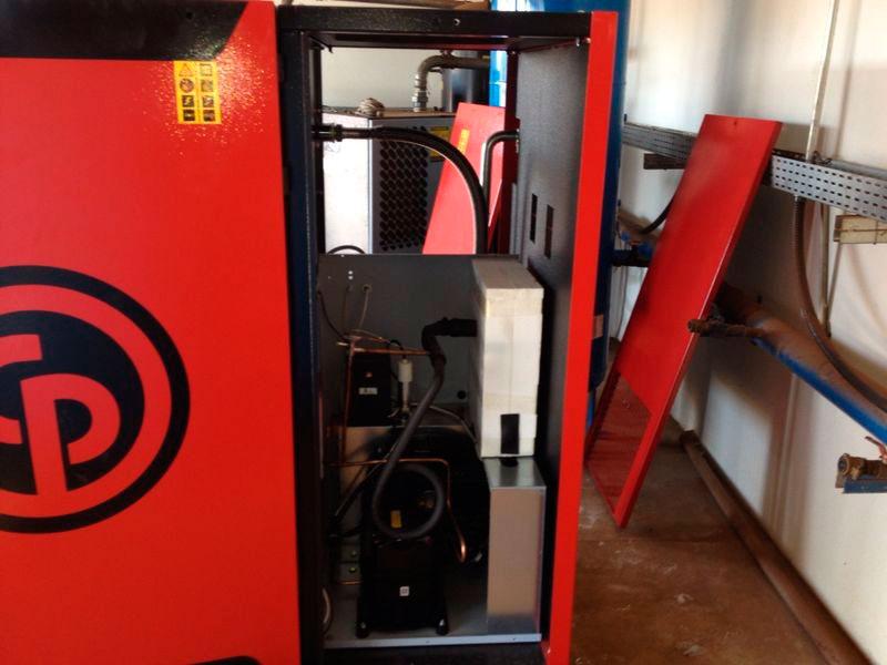 Conserto de compressor de ar SP