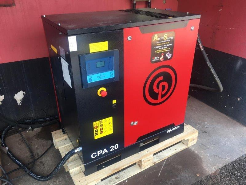 Conserto de secador de ar comprimido
