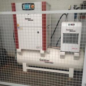 Compressor rotativo parafuso